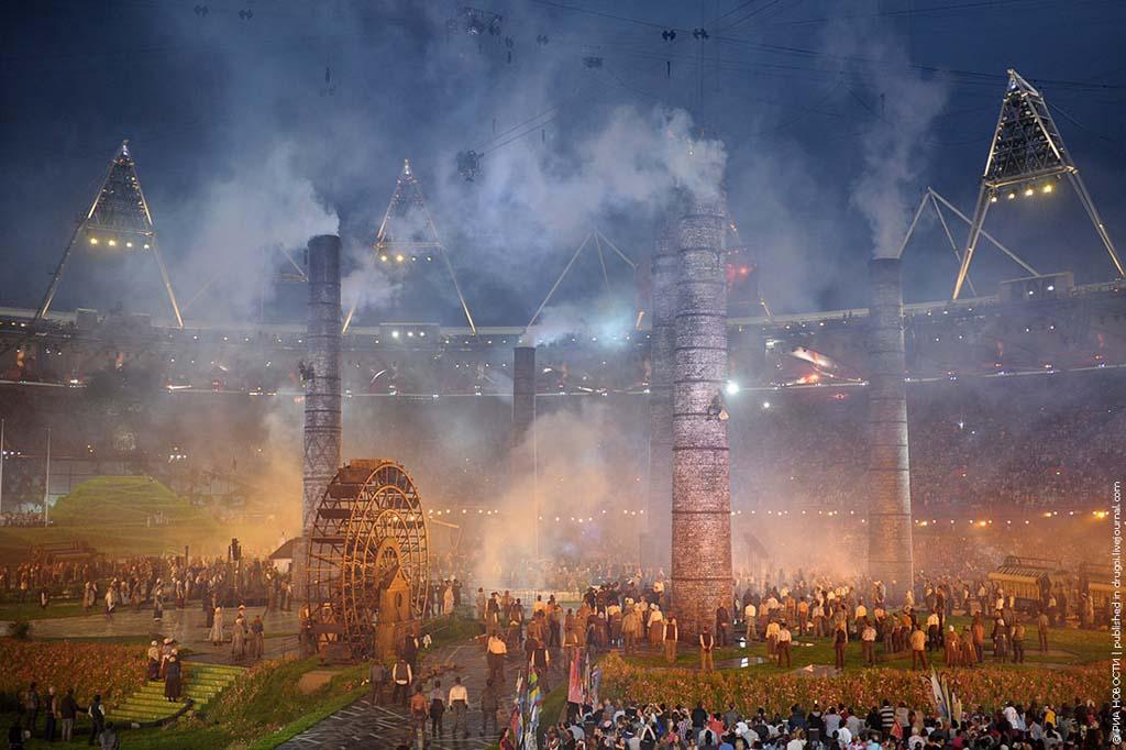 London2012 14 Открытие XXX Олимпийских Игр