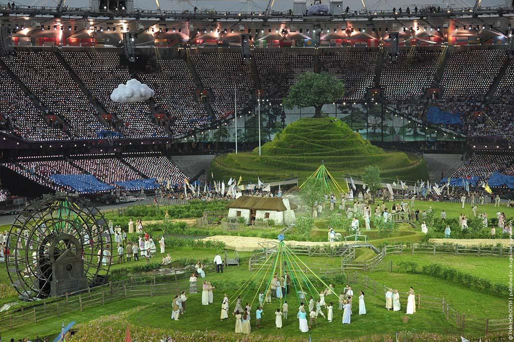 London2012 5 Открытие XXX Олимпийских Игр