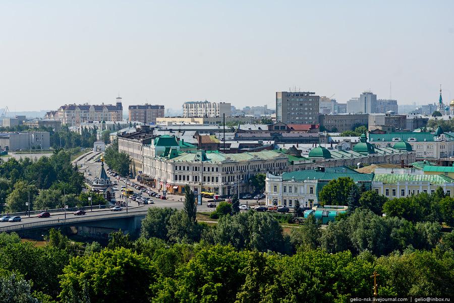 OMSK 18 Омск с высоты вертолета и не только...