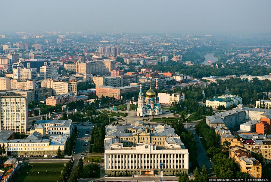OMSK 4 Омск с высоты вертолета и не только...