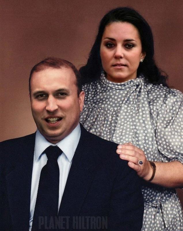 Prince William Kate Middleton 635x800 Если бы знаменитости выглядели как обычные люди. Юмористический фотопроект Дэнни Эванса