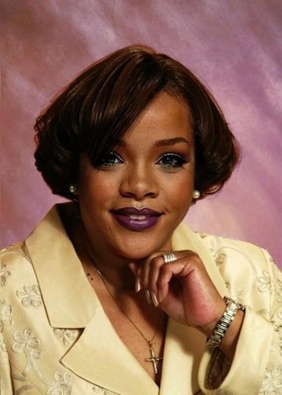 Rihanna 572x800 Если бы знаменитости выглядели как обычные люди. Юмористический фотопроект Дэнни Эванса