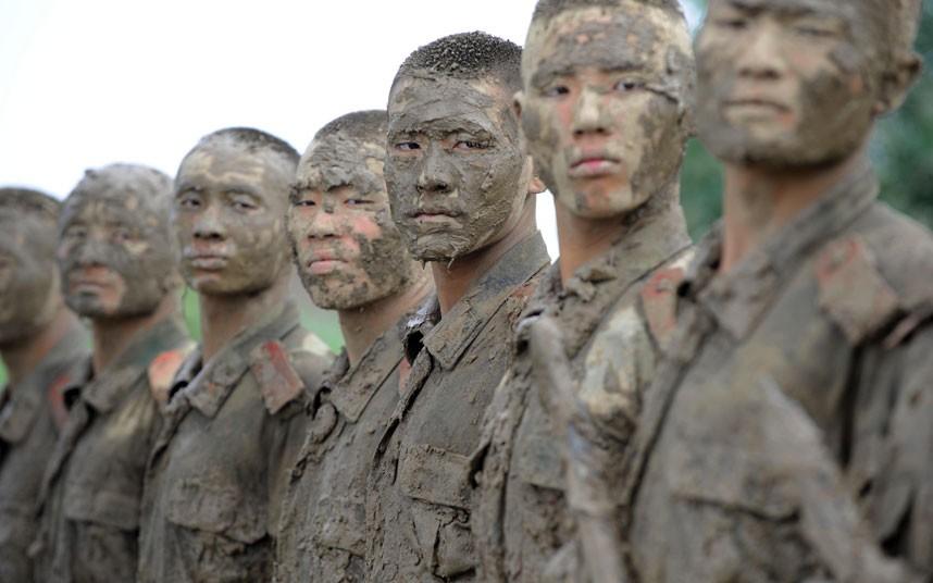 SWAT04 Тренировка китайского спецназа
