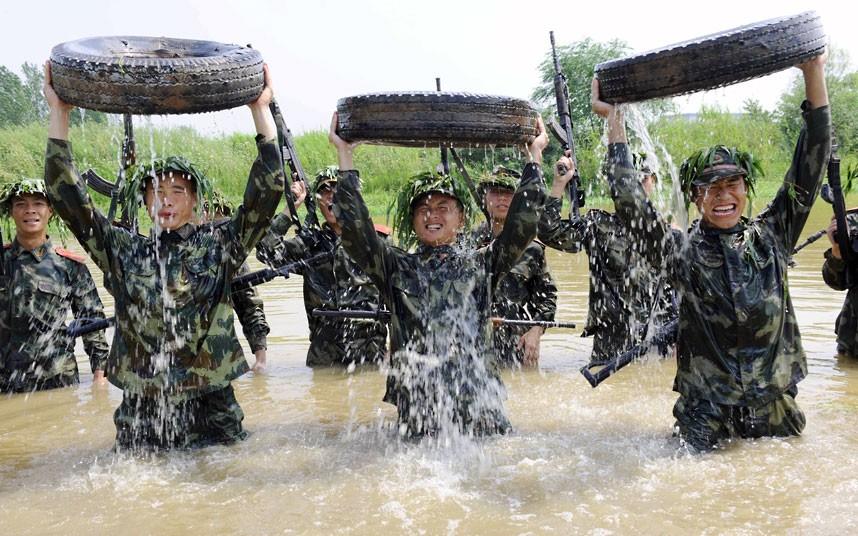 SWAT07 Тренировка китайского спецназа