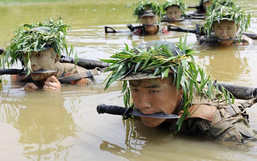 SWAT08 Тренировка китайского спецназа