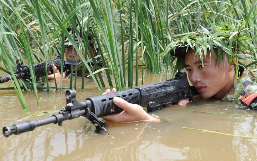 SWAT12 Тренировка китайского спецназа