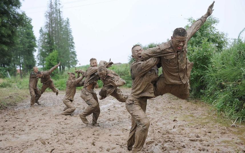 SWAT14 Тренировка китайского спецназа