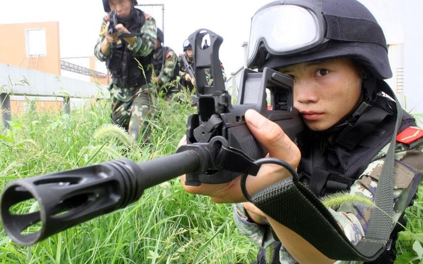 SWAT15 Тренировка китайского спецназа