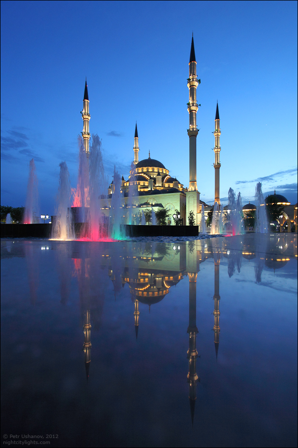 SerdceChechni 10 Грозный   Мечеть Сердце Чечни и виды сверху