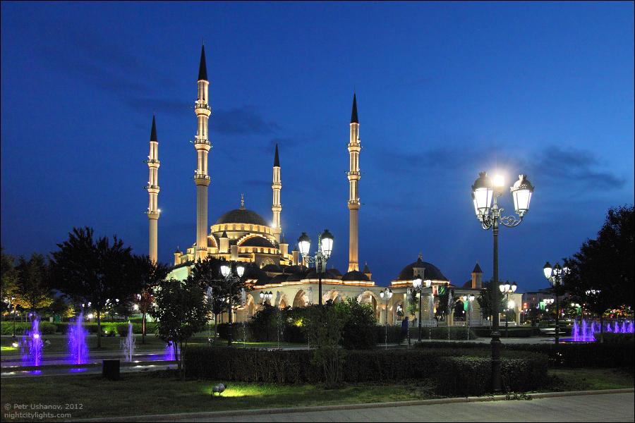 SerdceChechni 15 Грозный   Мечеть Сердце Чечни и виды сверху