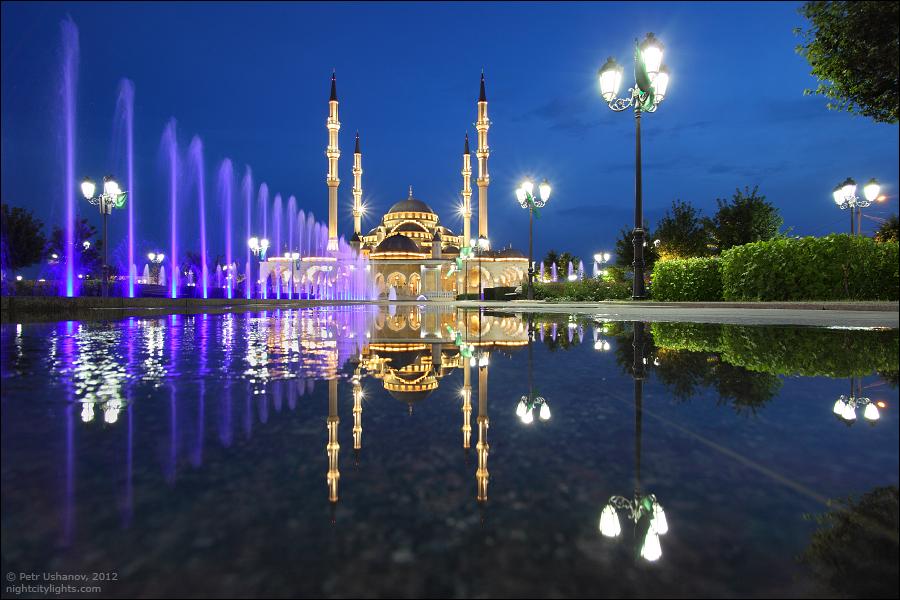 SerdceChechni 16 Грозный   Мечеть Сердце Чечни и виды сверху