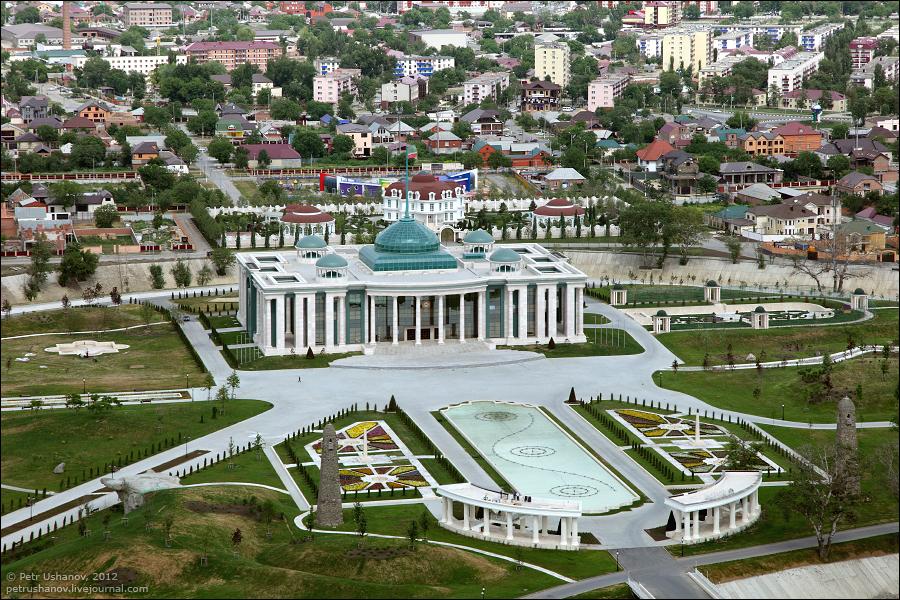 SerdceChechni 4 Грозный   Мечеть Сердце Чечни и виды сверху