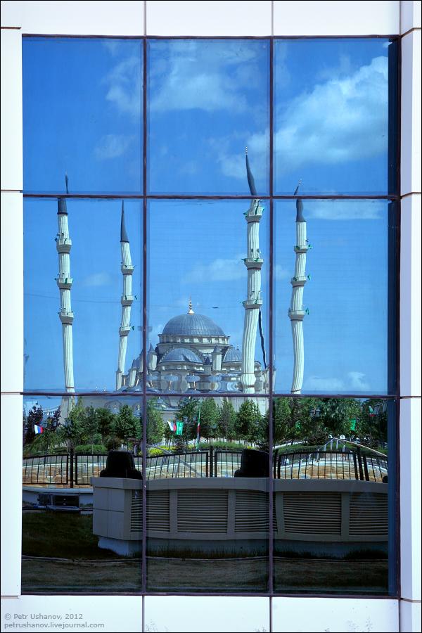 SerdceChechni 6 Грозный   Мечеть Сердце Чечни и виды сверху