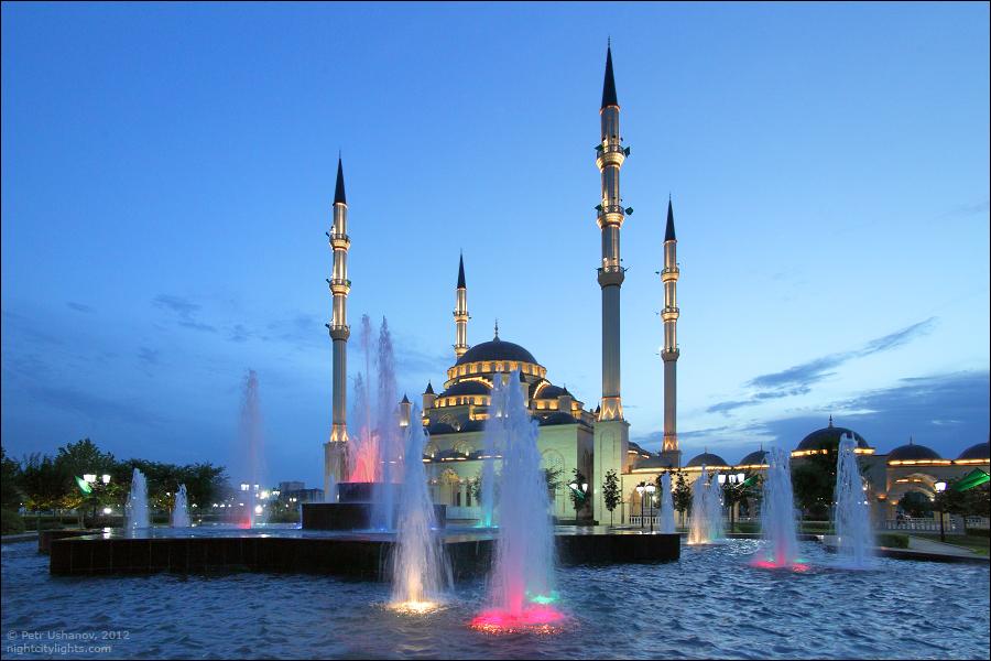 SerdceChechni 7 Грозный   Мечеть Сердце Чечни и виды сверху