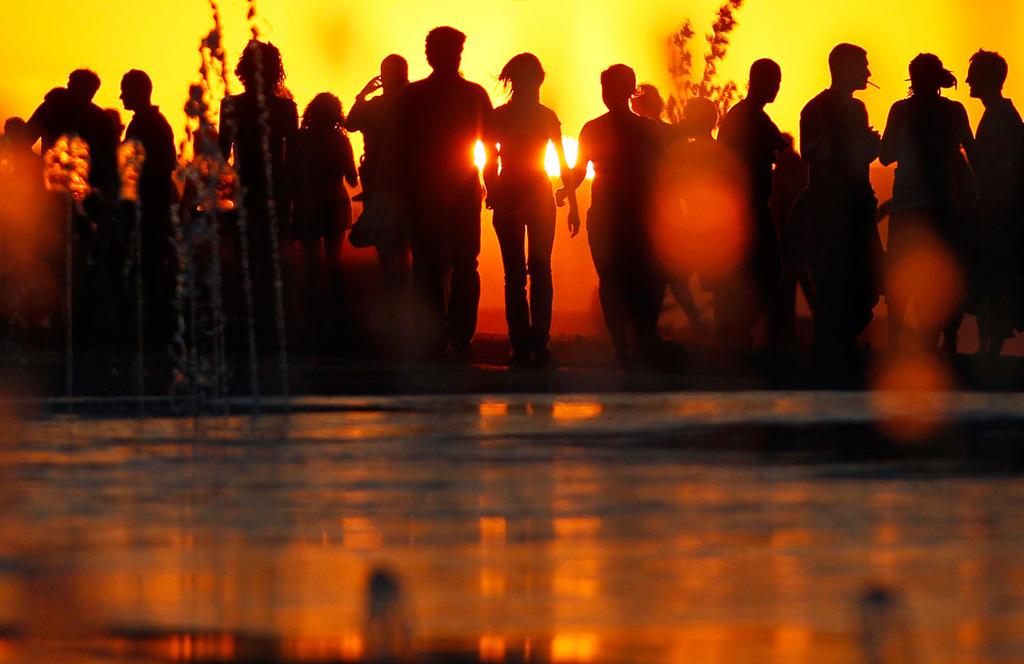 Silhouette 1 Силуэты в новостных фотографиях со всех уголоков мира