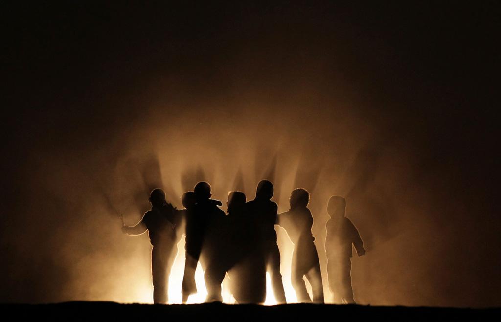 Silhouette 10 Силуэты в новостных фотографиях со всех уголоков мира