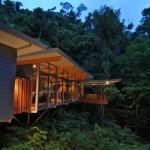 Дом на дереве в тропическом лесу Австралии