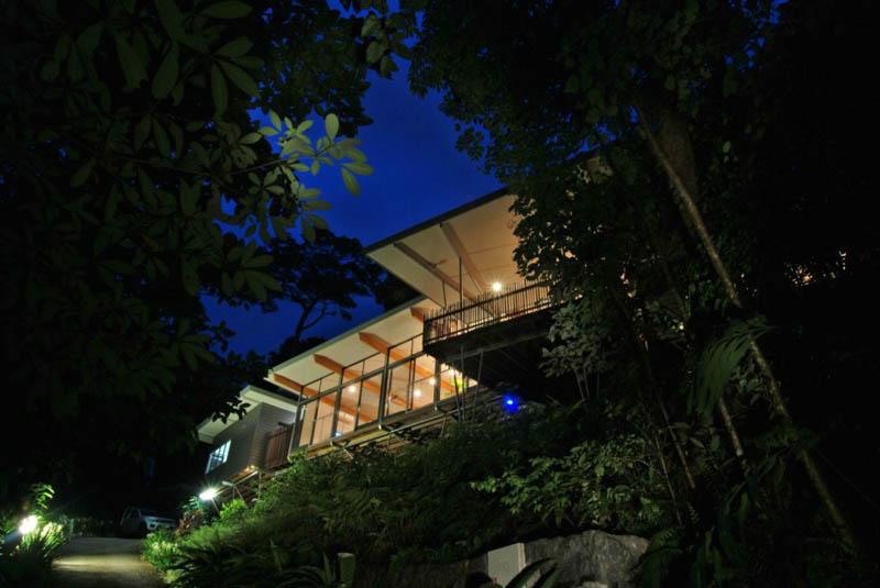 TreeHouse 12 Дом на дереве в тропическом лесу Австралии