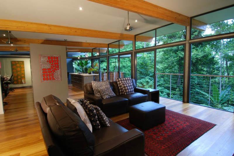 TreeHouse 4 Дом на дереве в тропическом лесу Австралии