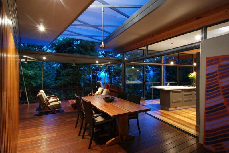 TreeHouse 6 Дом на дереве в тропическом лесу Австралии