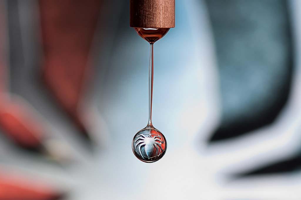 WaterDrop 8 Невероятные отражения в капельке воды