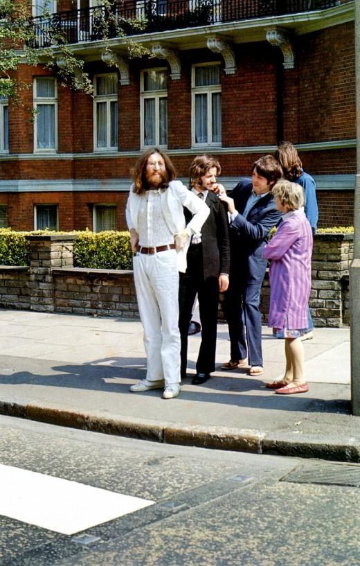 abbey road011 Кадры с фотосессии The Beatles для обложки к альбому Abbey Road