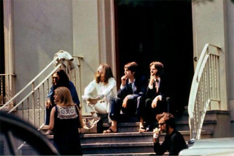 abbey road022 Кадры с фотосессии The Beatles для обложки к альбому Abbey Road