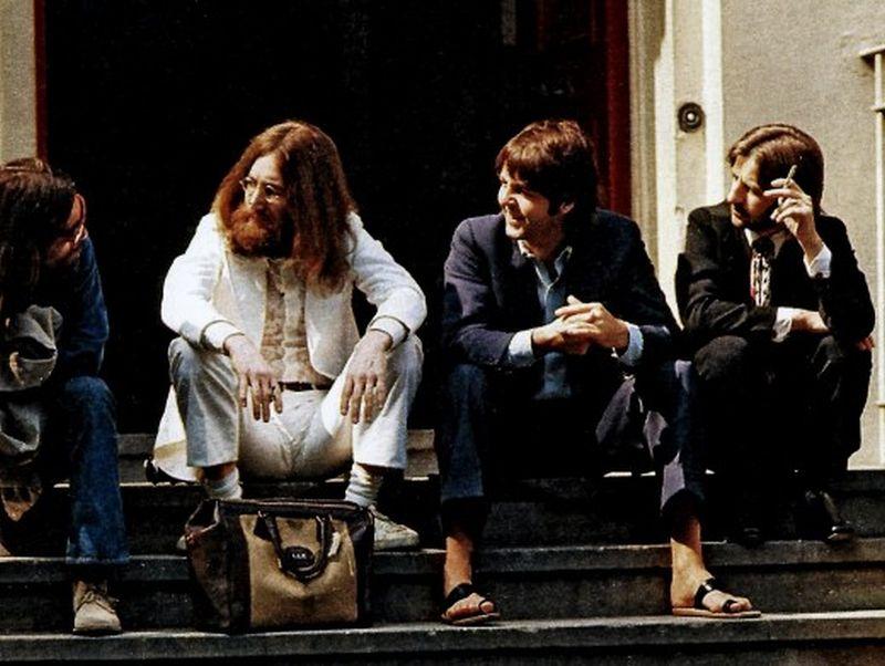 abbey road033 Кадры с фотосессии The Beatles для обложки к альбому Abbey Road