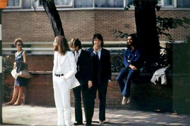 abbey road066 Кадры с фотосессии The Beatles для обложки к альбому Abbey Road