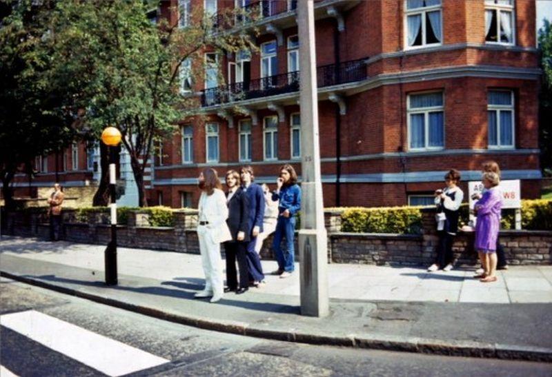 abbey road077 Кадры с фотосессии The Beatles для обложки к альбому Abbey Road