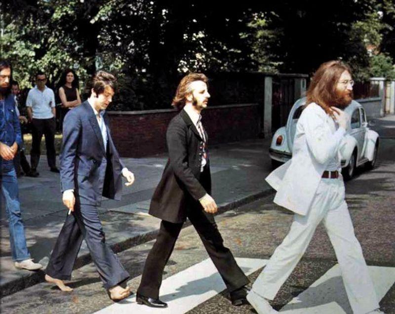 abbey road088 Кадры с фотосессии The Beatles для обложки к альбому Abbey Road