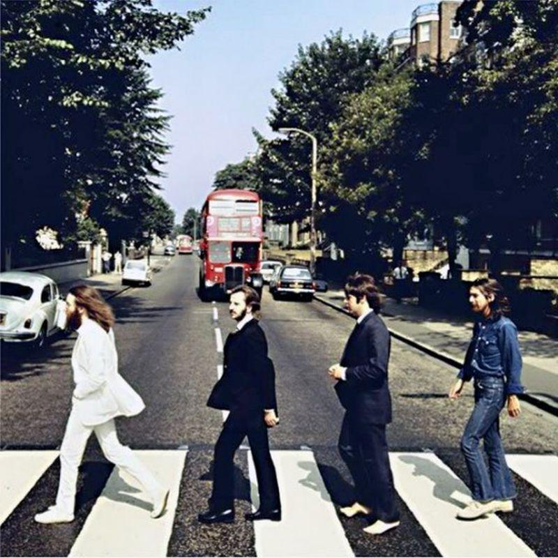 abbey road099 Кадры с фотосессии The Beatles для обложки к альбому Abbey Road