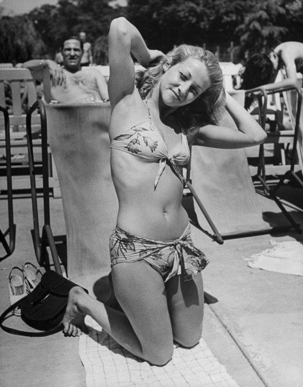 bikini 9 - 73 года назад появился самый маленький купальник в мире — бикини
