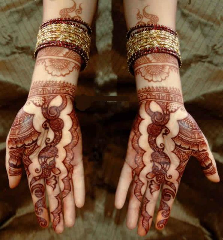 mendi 11 Индия и Индонезия: Кружева, нарисованные хной