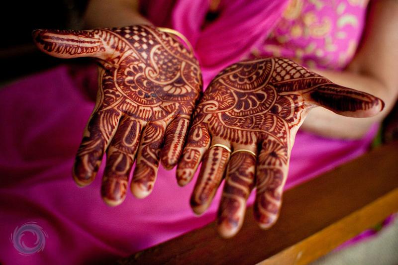 mendi 18 Индия и Индонезия: Кружева, нарисованные хной