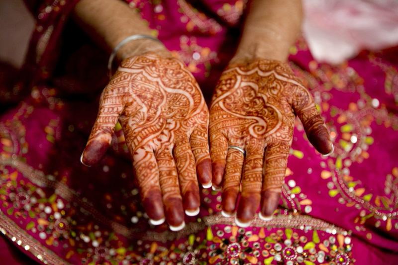 mendi 21 Индия и Индонезия: Кружева, нарисованные хной