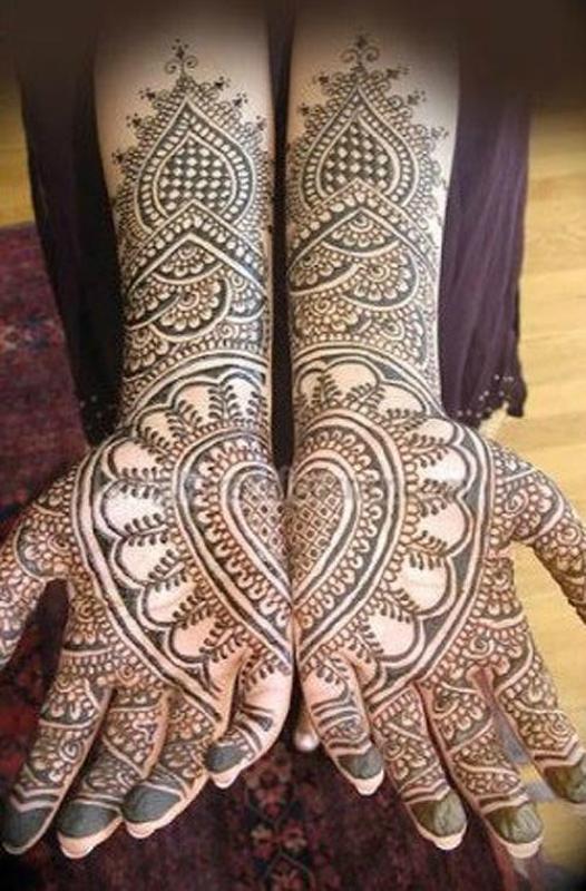 mendi 26 Индия и Индонезия: Кружева, нарисованные хной