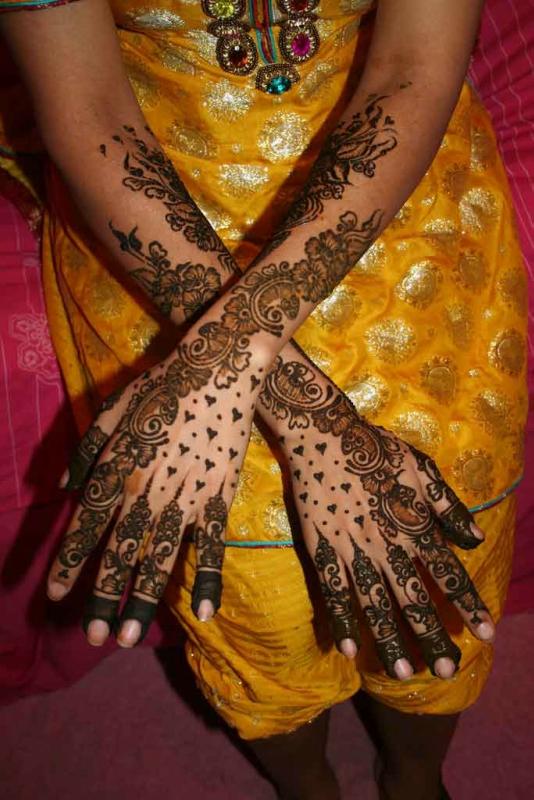 mendi 4 Индия и Индонезия: Кружева, нарисованные хной