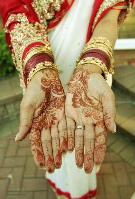 mendi 9 Индия и Индонезия: Кружева, нарисованные хной