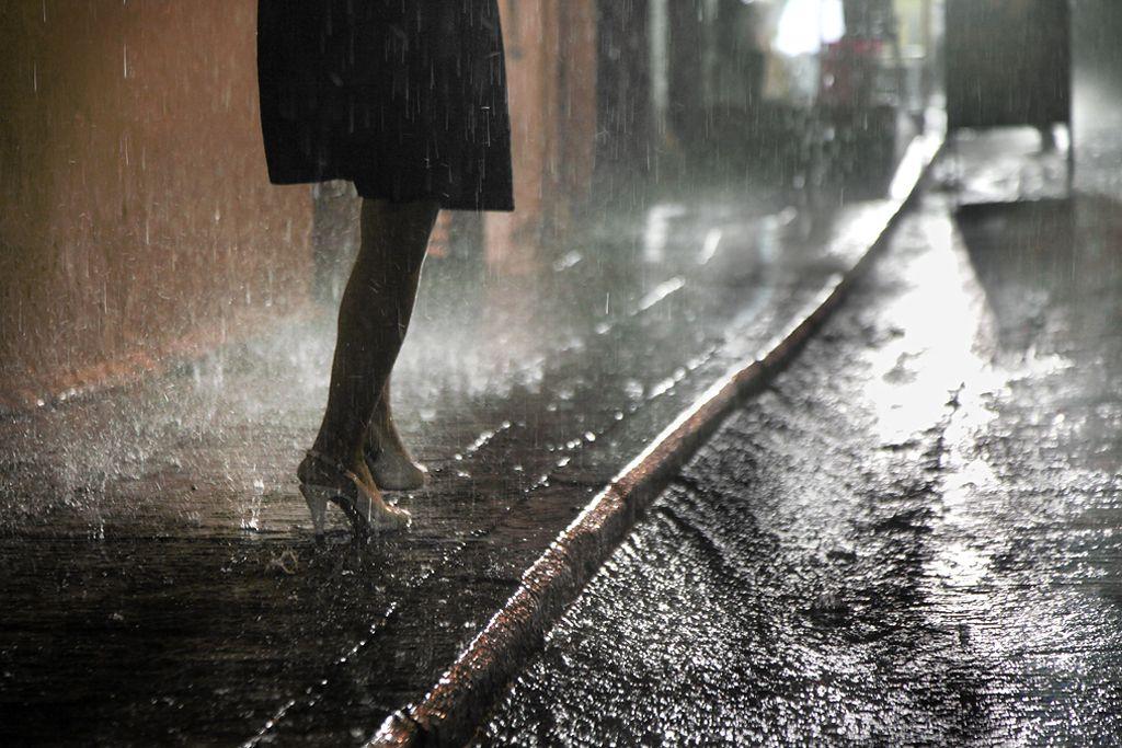 Дождя в фотографиях кристофера жакро
