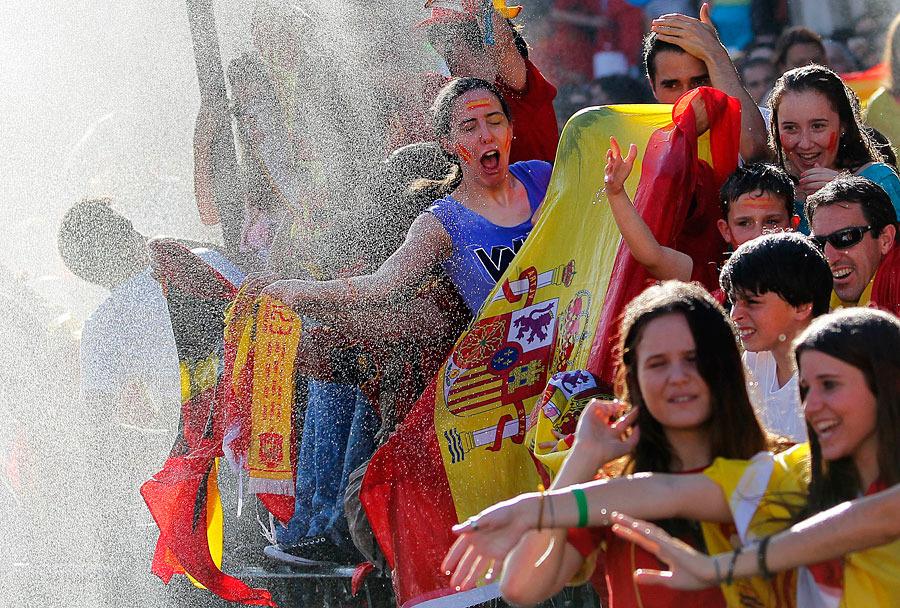roja01 Триумф сборной Испании в Мадриде