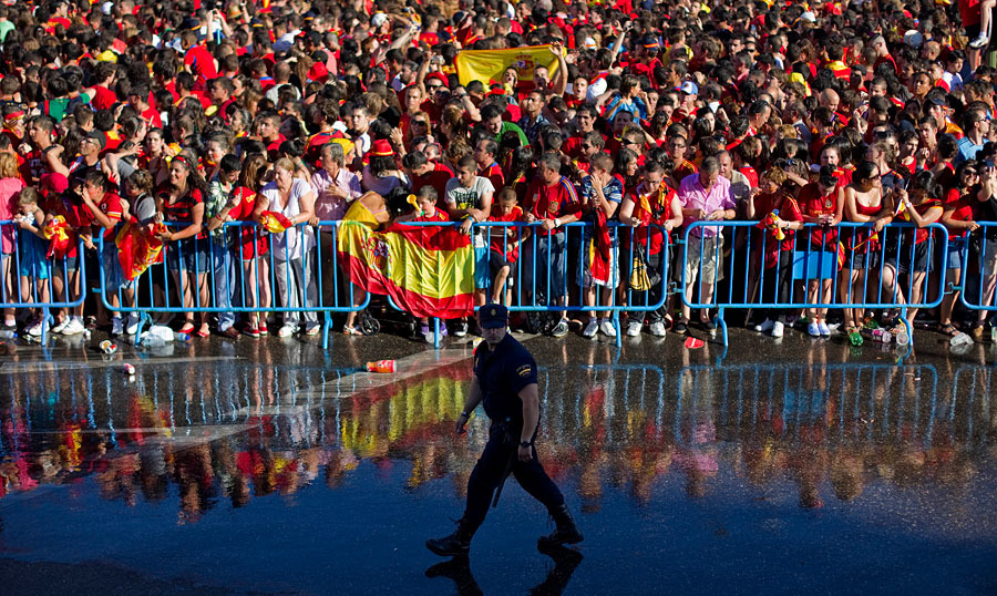 roja02 Триумф сборной Испании в Мадриде