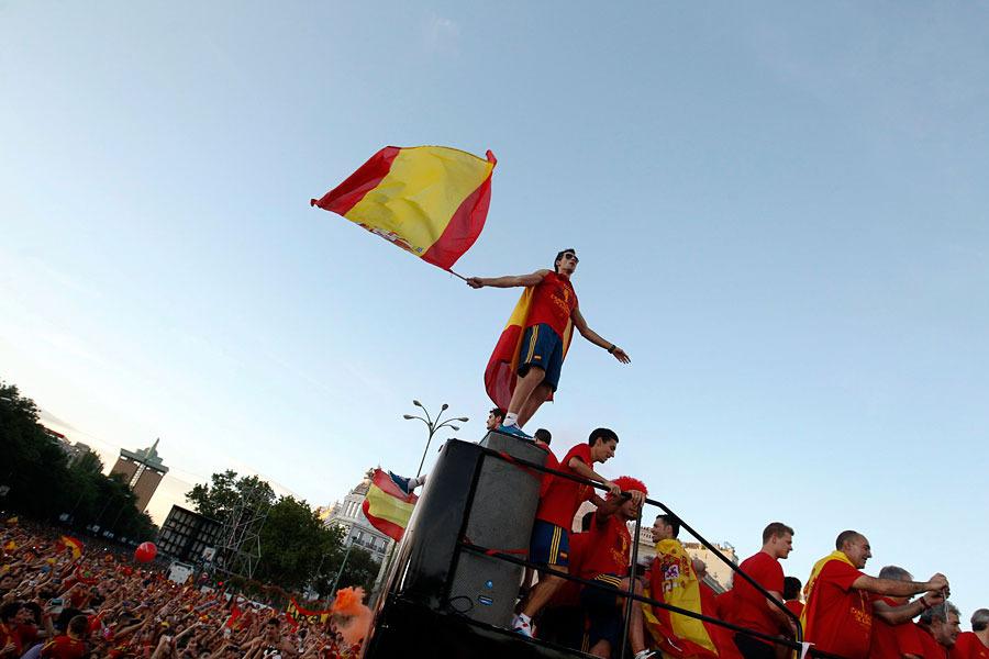roja03 Триумф сборной Испании в Мадриде