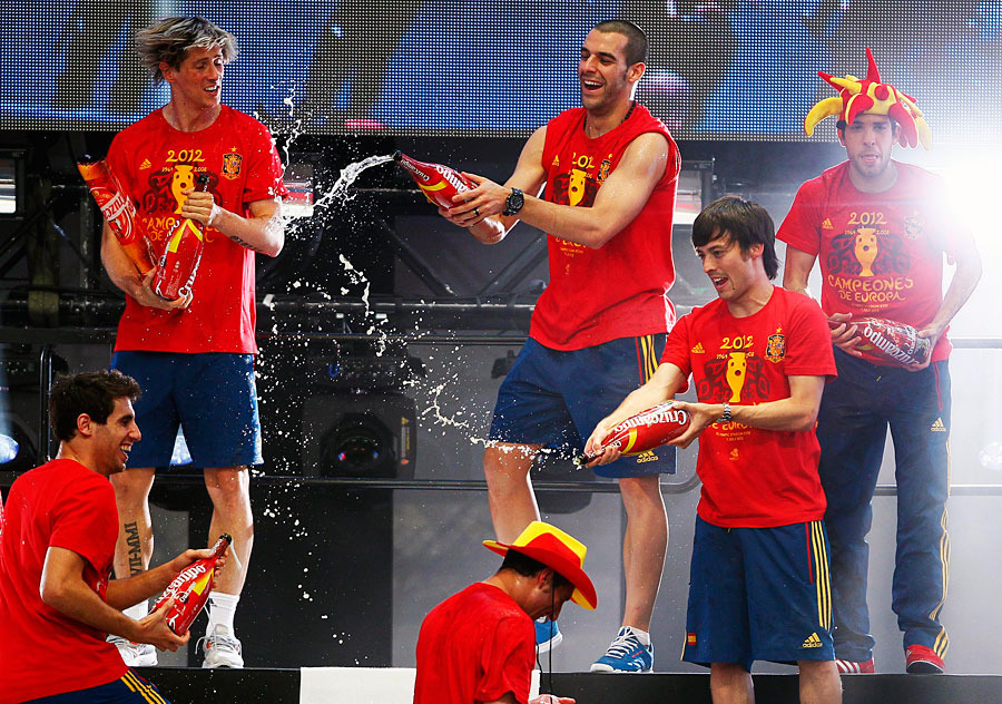 roja05 Триумф сборной Испании в Мадриде