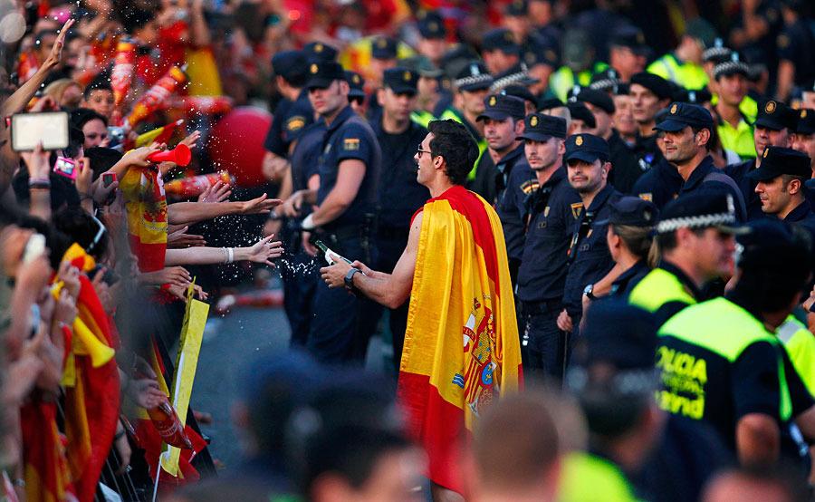 roja07 Триумф сборной Испании в Мадриде