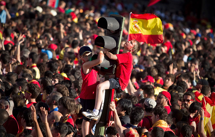 roja08 Триумф сборной Испании в Мадриде