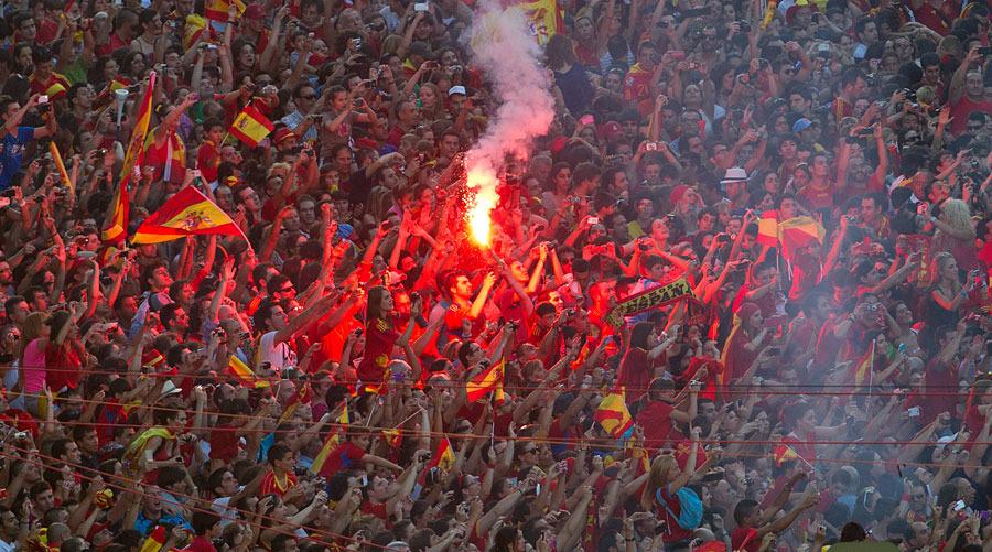 roja09 Триумф сборной Испании в Мадриде