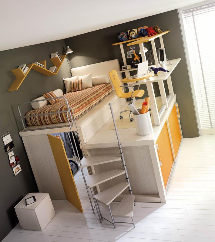 rooms 1 Как сэкономить место в детской комнате