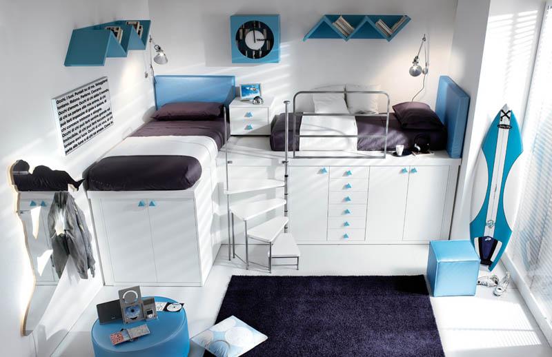 rooms 10 Как сэкономить место в детской комнате