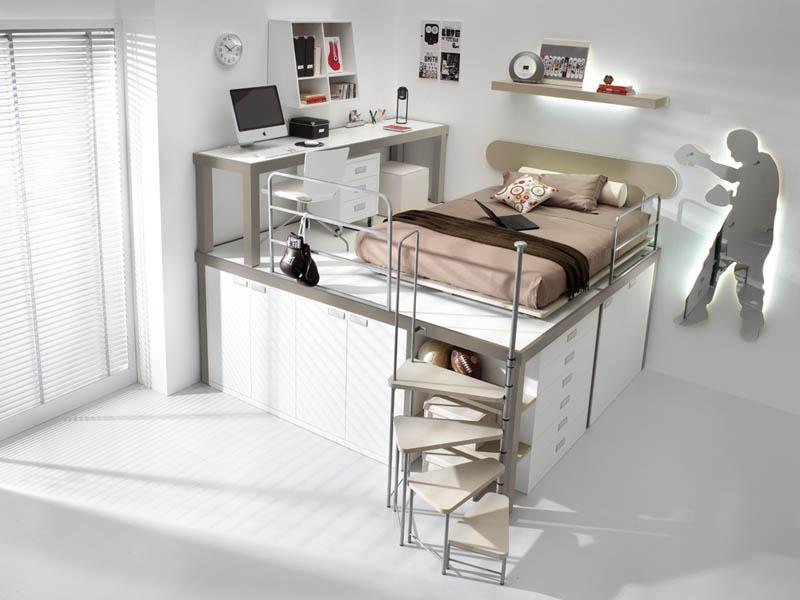 rooms 11 Как сэкономить место в детской комнате